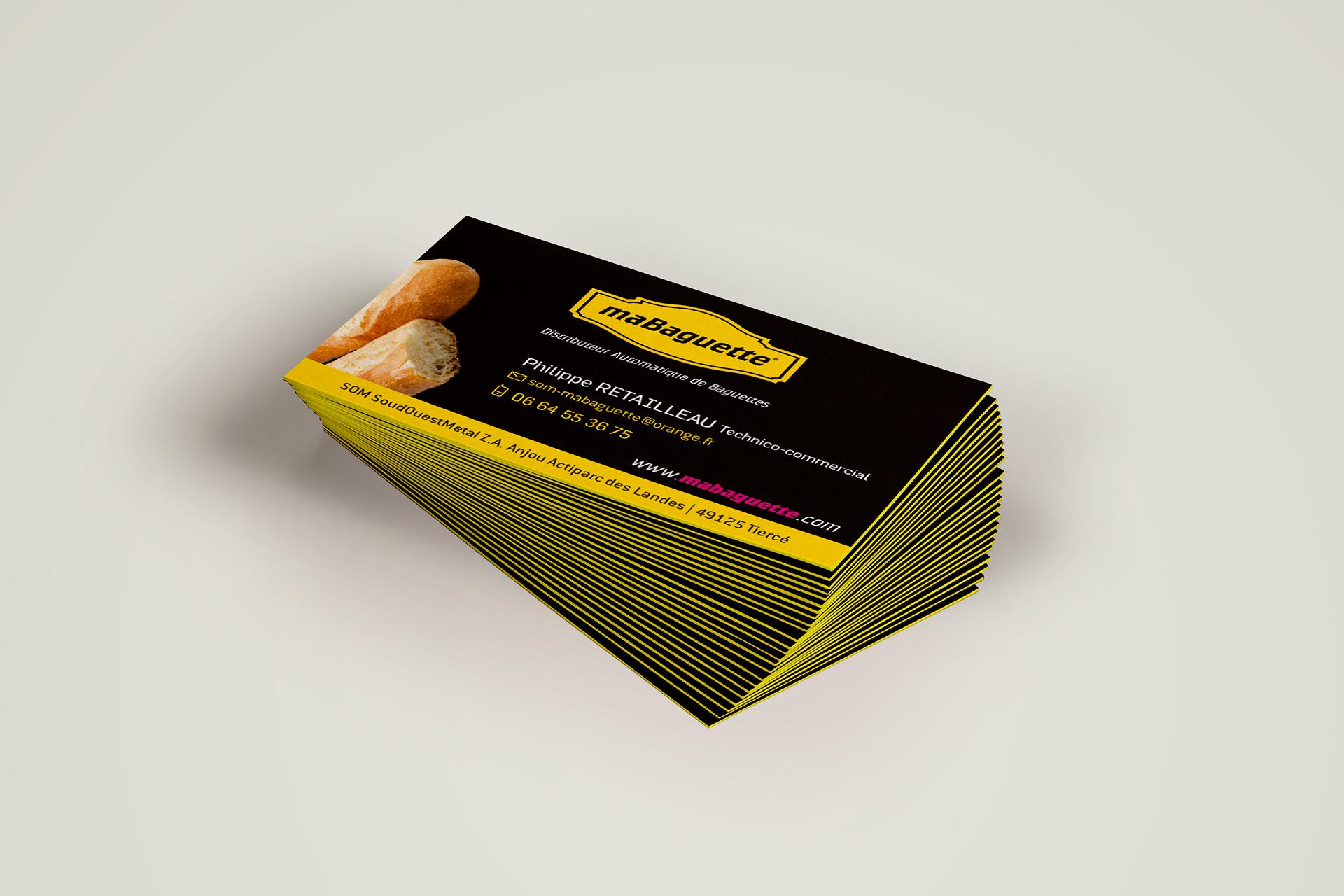 MaBaguette- cartes de visite
