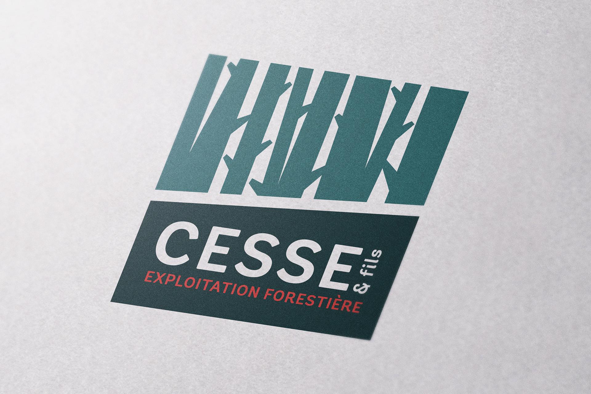 Nouveau Logo pour l'entreprise CESSE et Fils