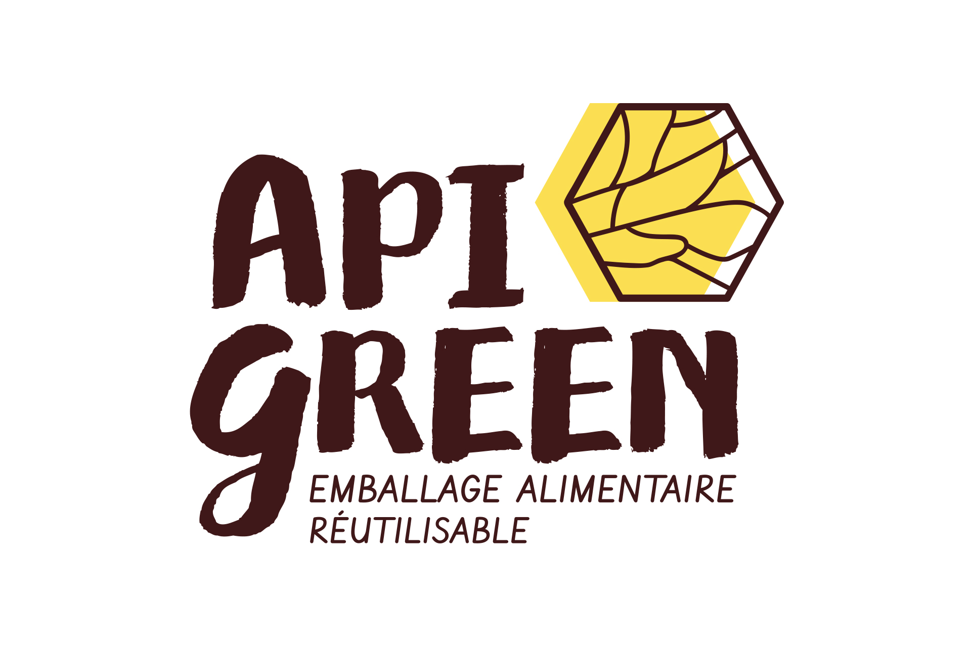 logo pour nouvelle marque API GREEN - design packaging