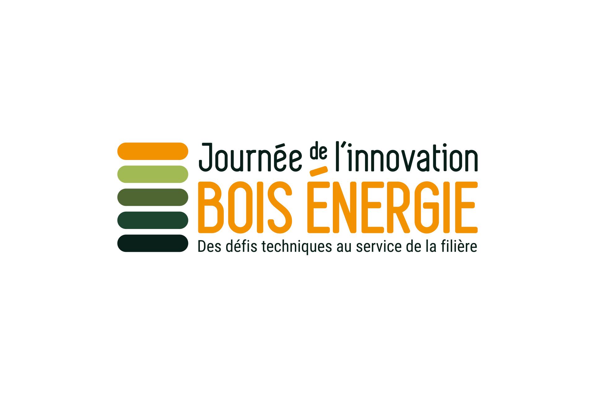 Création de logo Journee de l'innovation Bois Energie