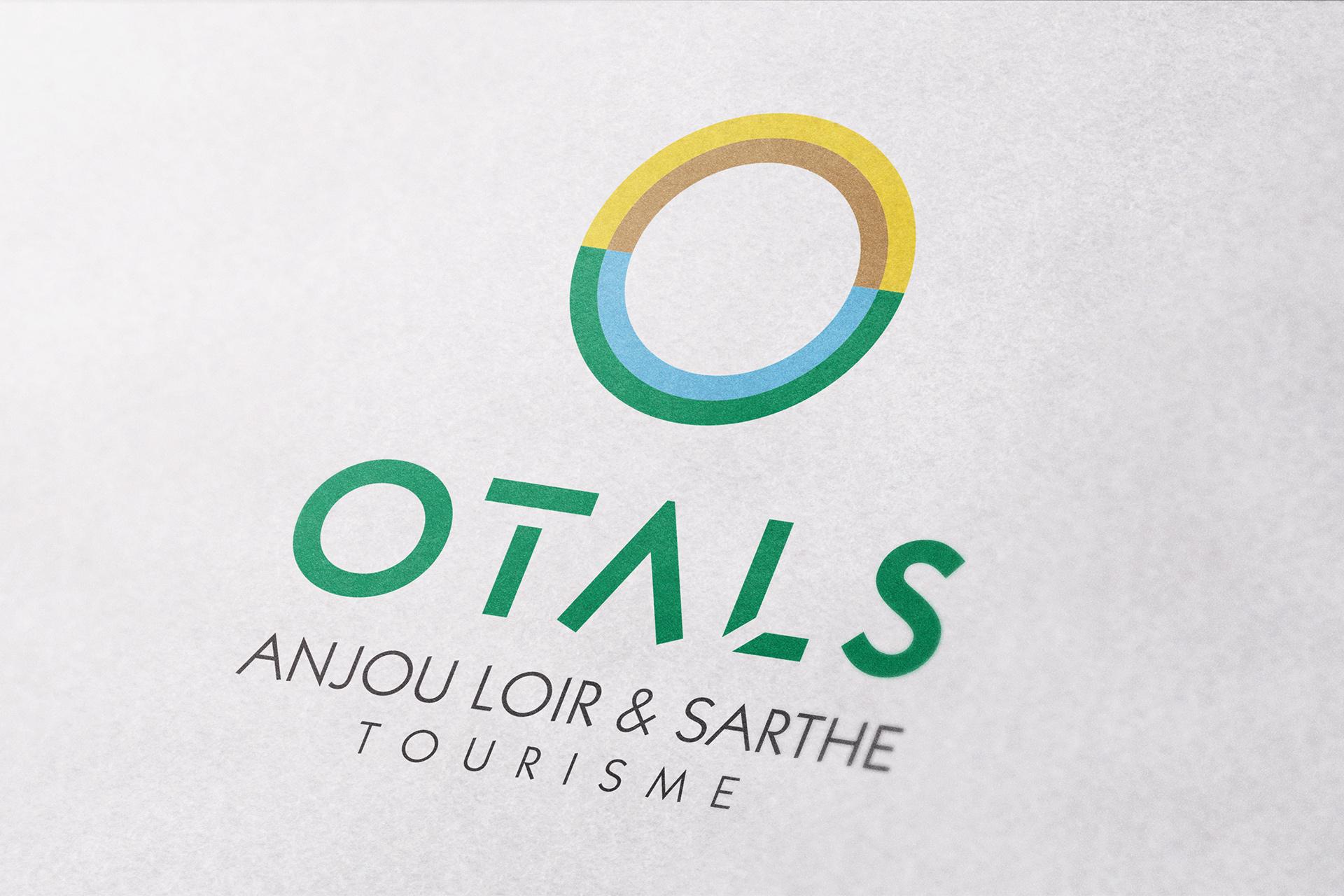 Refonte du logo Anjou Loir & Sarthe Tourisme OTALS_communication tourisme